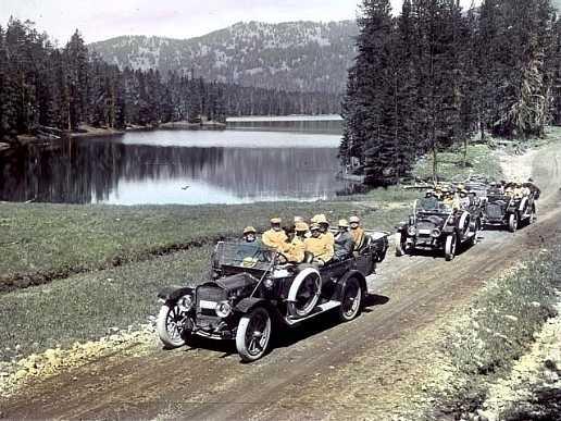 Sylvan Lake Yellowstone