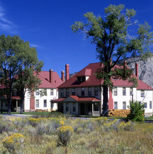 Fort Yellowstone Officer's Quarters. NPS Photo