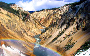 Yellowstone River in the Grand Canyon of the Yellowstone, below Lower Falls, photo by S.R. Brantley, USGS.gov
